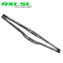 31.8mm MTB Carbon Handlebar Mountain Bicycle Handlebars RXL SL Carbon Flat/Riser 3K Matte 580/600/620/640/660/680/700/720/740mm(China)