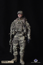 "CalTek CAL-8020 1/6 Cal Tek CAL-8020 A-TACS Advanced Tactical Camouflage Hiding System 12"" Collectible Action Figure"