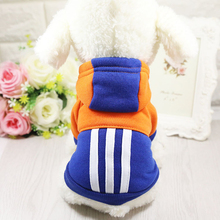 Buy 2017 New Fashion Pet Clothes Dog Milt- color Woolen Sweater Coat Warm Pet Clothing Jacket Small Medium Large Dogs for $4.29 in AliExpress store