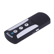 Car-styling Car Wireless Bluetooth Handfree With Charger Visor Clip Built-in Micro Wholesale ME3L