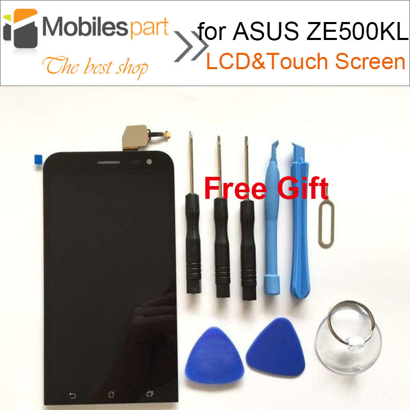 High Quality LCD Display +Touch Screen Assembly Replacement Screen for ASUS Zenfone 2 Laser ZE500KL 5.0inch<br><br>Aliexpress