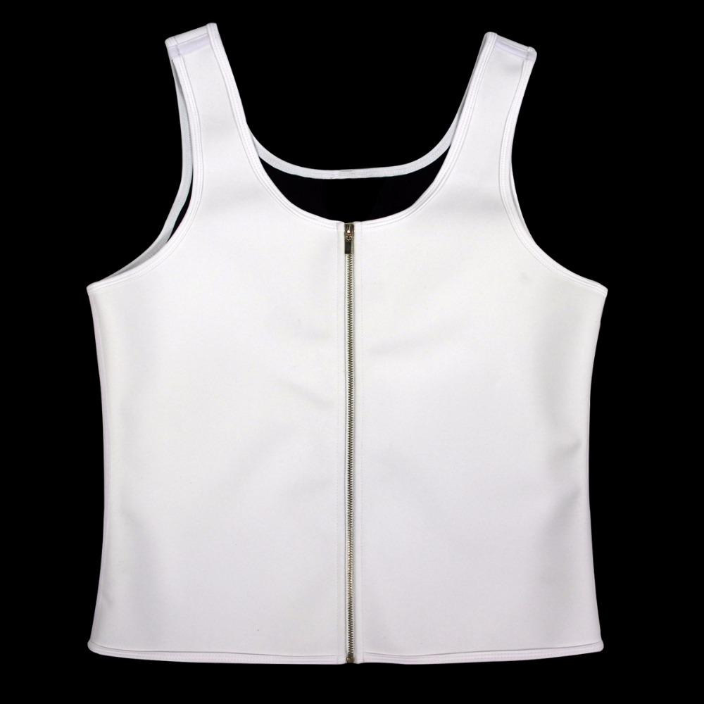 Latex Waist Cincher Men Rubber Bone Hot Fat Burning And Control Slimming Fit Vest Body Shaper Zipper Close Underwear Bustier 6XL (10)