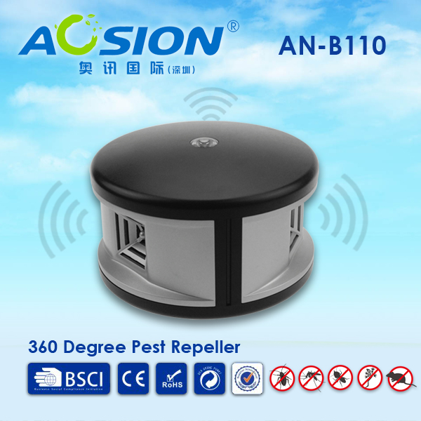 Home Aosion 360 degree ultrasonic Rats rodent mouse mice repellent and electronic cockroach Lizard pest repeller control reject<br>