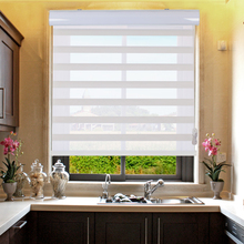 Europe market best sell high quality simple design roller zebra blind made easy to install for window blinds(China)