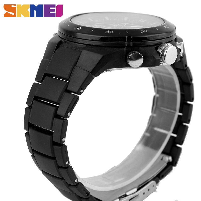 SKMEI Sport Watch Men Fashion Casual Alarm Clock Waterproof Military Chrono Dual Display Wristwatches Relogio Masculino 1016