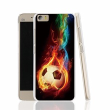 19381 Soccer Ball fire football cell phone Cover Case for Xiaomi redmi hongmi red rice 1_1s 2 3 note
