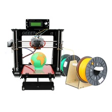 Geeetech 3D Printer Dual Extruder Reprap Prusa I3 Pro C Two-Color Printing High Resolution LCD