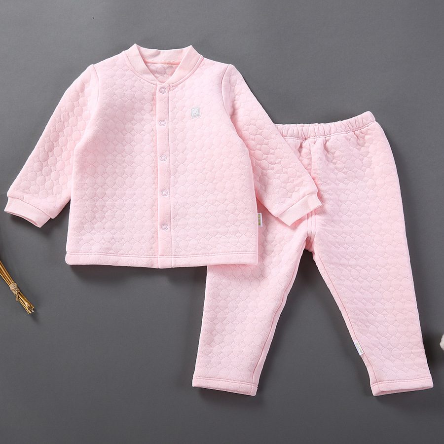 2017 Baby Girls Boys Spring Cardigan Clothing Set Infant Suit 100% Cotton Underwear Toddler Pajamas set Long Johns 6M to 5Y<br><br>Aliexpress