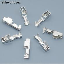 shhworldsea 50pcs BX2024-2 auto car insurance tablets fuse box terminal BX2091 trumpet Line Protection Insurance Spade Connector