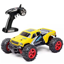 Classic Toy Mini RC Car, SUBOTECH 25MPH 40km/h High Speed 1:24 Scale Off Road gift for boy(China)