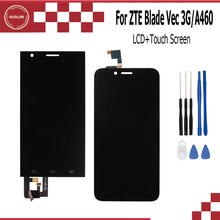 ocolor For ZTE Blade Vec 3G Blade A460 L4 LCD Display and Touch Screen Assembly Repair Part Mobile Accessories For ZTE +Tools(China)
