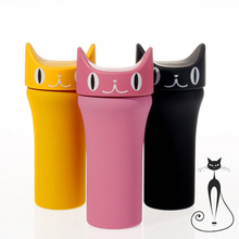 Thermo CUP Kitty Mug Best Kitten For Friends,  Thermos Vacuum HOT Coffee, Tea Best Gifts Cup
