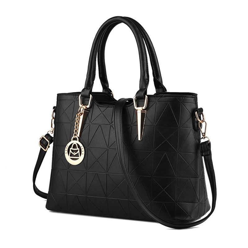 Women bag New 2016 PU leather fashion handbag Luxury shoulder bag for women Top Quality top-handle bag Sac A Main bolsa feminina<br><br>Aliexpress