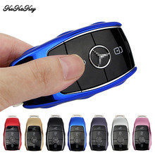 New ! Mercedes Key Cover TPU Car Smart Key Holder Case Mercedes Benz W124 W213 W202 W203 W204 W210 W211 CLA AMG Key Ring