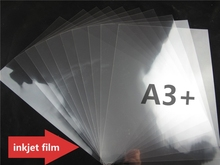 A3+ size quality transparent film sheets for plate making inkjet(China)