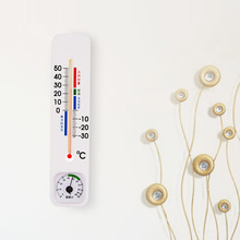 Long indoor and outdoor thermometer hygrometer Mercury physical induction can hang with temperature and humidity meter