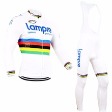 Buy winter fleece 2016 pro team lampre merida cycling jersey Ropa Ciclismo long sleeve racing bike clothing MTB Bicycle maillot gel for $38.55 in AliExpress store