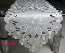 Morden table cloth hollow embroidery table cloth embroidered tablecloths universal cover red white blue