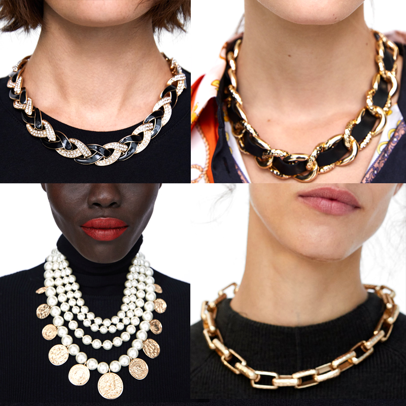 Fashion Faux Pearl Necklace