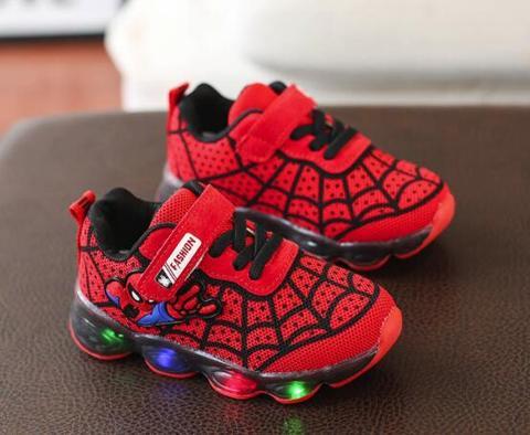 Footwear Girl Spider Cute tenni First Walker Shoes Baby