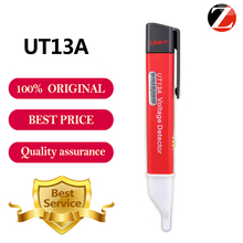 Free shipping UNI-T UT13A AC Voltage Detectors RED LED voltage indicator with beep sound Tester Test Pen