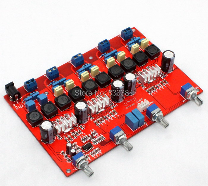 4.1 TPA3116 digital amplifier assembled board class D DC18V-DC24V (100W+50W*4) free shipping<br>