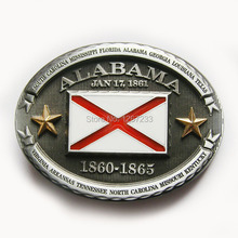 Distribute Belt Buckle Alabama Belt Buckle Free Shipping 6pcs Per Lot Mix Style is Ok