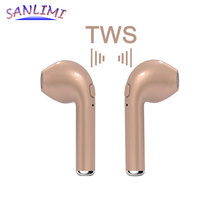 HBQ i7 TWS Twins Wireless Bluetooth Earphone Earbuds Mini V4.2 DER Stereo Headset Sports Headphone for iPhone 8 7 Android xiaomi(China)