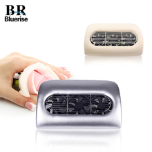 Bluerise Nail Vacuum Cleaner Beauty Salon Equipment Collector Suction Nail Dust Manicure Machine Cleaning Drill Dirt UV Nail Gel(China)