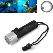 Super Underwater 1200LM CREE XM-L T6 LED Diving Flashlight Torch Lamp Light Waterproof 170120