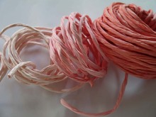 Paper flowers material Paper rattan rope 30m(China)