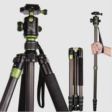 SYS500C Carbon Fiber Camera Tripod  Monopod For Digital SLR DSLR Camera Tripod Head Weight 1.35 KG Free Shipping By DHL