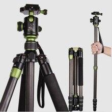 SYS500C Углеродного Волокна Штатив Монопод Для Цифровой ЗЕРКАЛЬНОЙ Камеры DSLR Штатива Вес 1.35 КГ Бесплатная Доставка По DHL