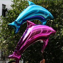 Dolphin aluminum foil balloon wedding birthday party wedding decorate decoration supplies aluminium balloons