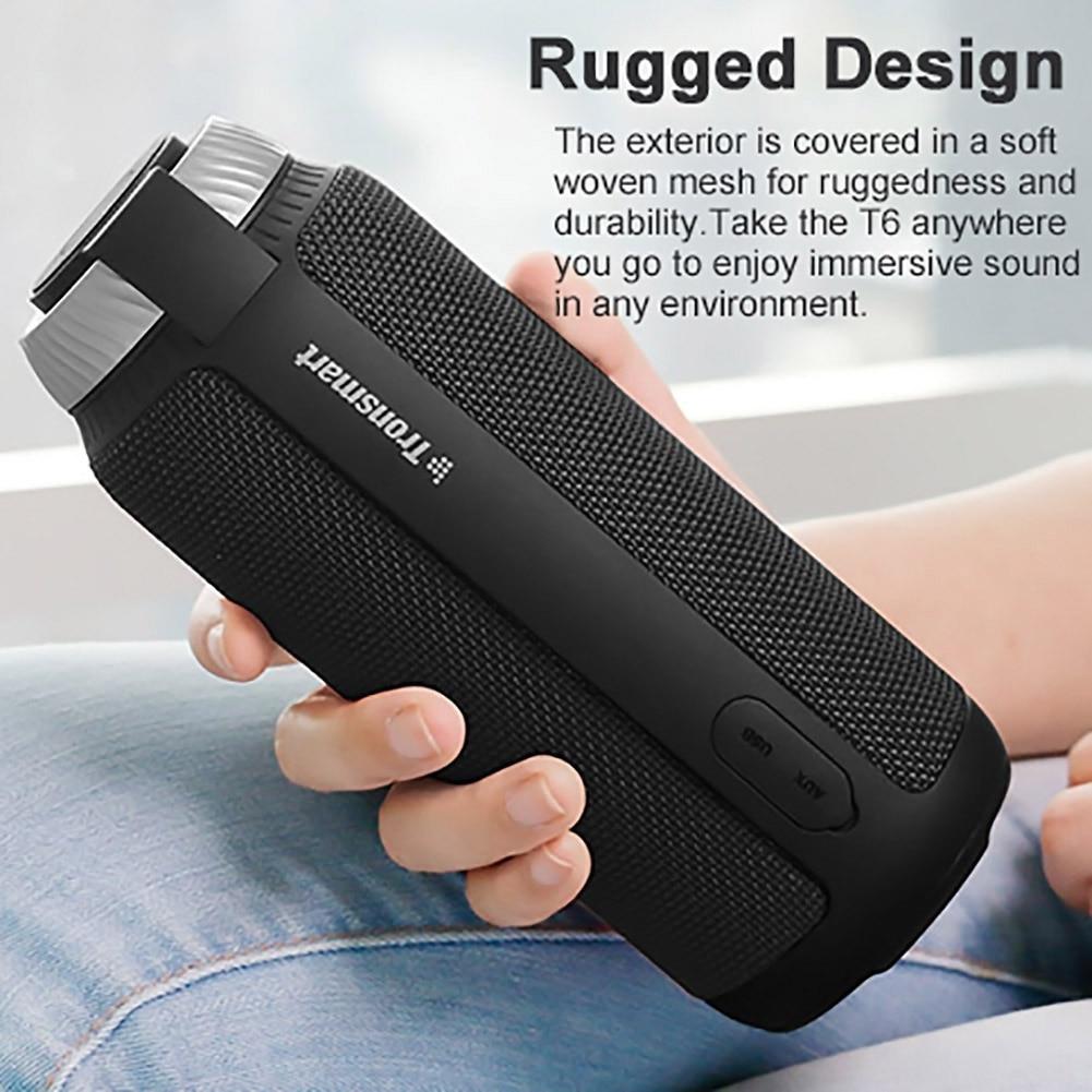 Bluetooth 4.1 Portable Speaker (Red) 16