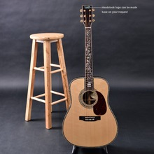 OEM custom guitar,  Acoustic Guitar,solid Spruce top, Free Shipping