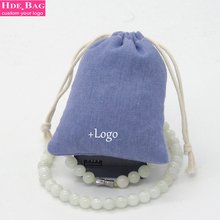Custom Logo Linen Storage Bag Packing for Jewelry 53 Colors Cotton Gift Bag for Party Favors Christmas Birthday Souvenir Bag