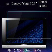 10 inch Yoga B8080 Glass Screen protector For Lenovo Yoga B8000 B8080 Tablet PC Tempered Glass Screen protective Films