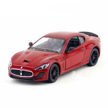 Scale 1:38 Kinsmart MC Stradale Car Toy Die cast Metal Simulation Cars Model For Boys Mini Pull Back Vehicle Kids Toys Juguetes(China)