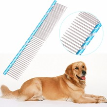 Cat Dog Hair Grooming Stainless Steel Needle Comb Dog Combs Hair Fur Removal Grooming Brush Tool Pet Supplies Product