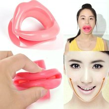 Facial Lift Silicone Rubber Slimmer Massage Muscle Tightener Anti-Aging Anti-Wrinkle Oral Exerciser Mouth Care   004