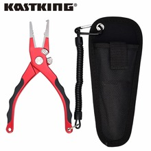 KastKing New 19cm/7.5in Aluminum Fishing Pliers Multipurpose for Split Ring, Crimping, Cutting, Hook Remover Fishing Tool Tackle
