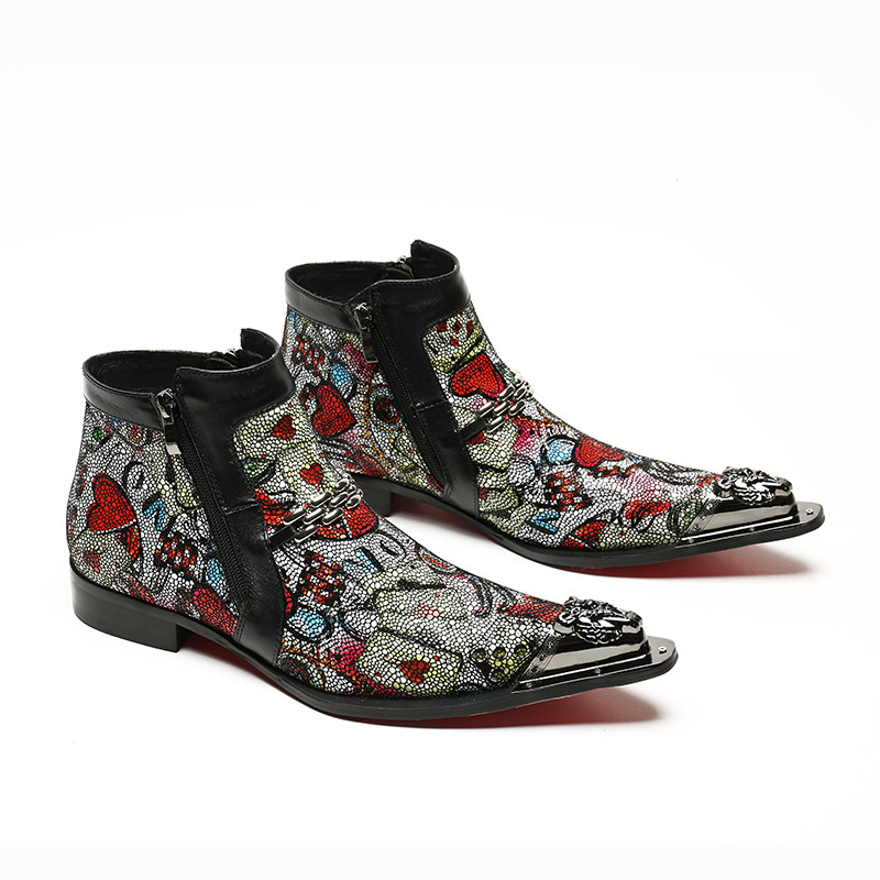 Free-Shipping-Genuine-leather-Men-Pointed-Toe-Metal-Ti-Men-s-Dress-Boots-Fashion-Handmade-Colorful (1)