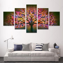5 piece canvas art wall art prints posters and prints scenery painting on beautiful woods kids room decoration nordic Modular p
