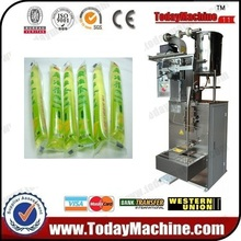 relay Easy operation juice jelly plastic bag packing machine(China)