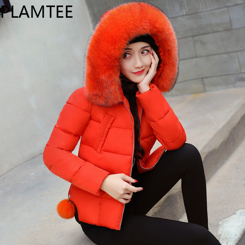 PLAMTEE Winter Down Jacket For Pregnant Women Plush-hoodies Long Sleeves Maternity Clothing Fashion All Match Pregnancy Coats<br>