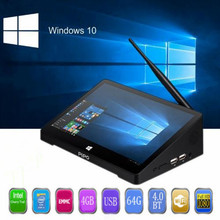 PIPO X10 pro Mini PC Windows 10 & Andriod 5.1 Mini PC Intel Z8350 Quad Core 4G 64G 10.8 inch IPS Tablet PC Smart Media Player