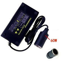 12V 5A 60W Vehicle Power Inverter Car Cigarette Lighter Power Adapter Converter for Car Vacuum cleaners waxing / Washing machine