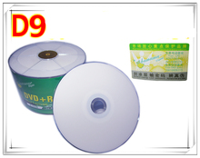 50 discs Grade A X8 8.5 GB Blank Bananas Printable DVD+R DL Disc