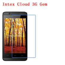 5 Pcs Ultra Thin Clear HD LCD Screen Guard Protector Film With Cleaning Cloth For Intex Cloud 3G Gem.(China)